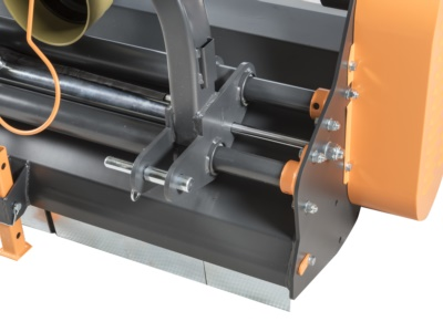 Traslazione idraulica su guide tubolari