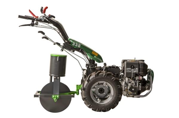 Seminatrice meccanica di precisione per motocoltivatore o traino animale